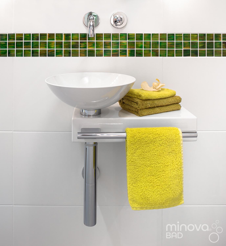 Waschbecken nach Kleinbad-Renovierung |Nr. 11
